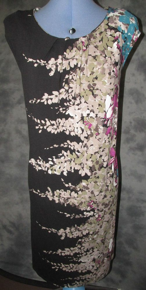 T U,Ladies,size 20,black,floral,new+tag,sleeveless,scoop neck,formal,Dress