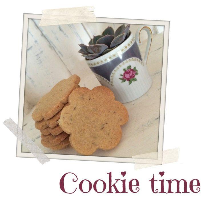 Ok, ik mag dan een beetje druk zijn...koekjes bakken kan altijd! Afgelopen weekend bakte ik...