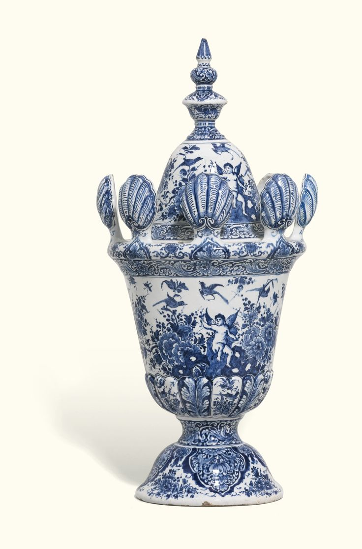 1511 best blue and white porcelain images on pinterest white a large and rare dutch delft blue and white vase and cover circa 1700 reviewsmspy