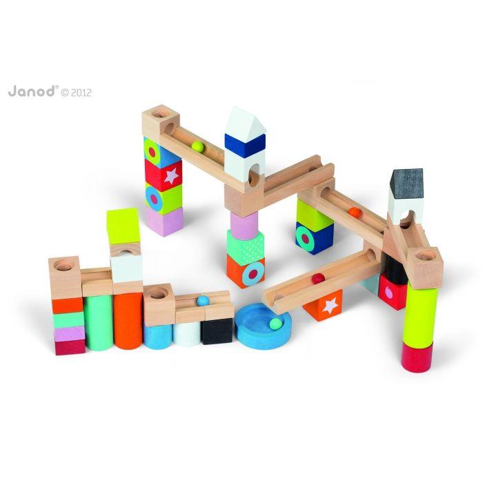 Kubix Toboggan à Billes jouet JANOD