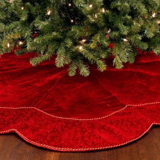41 best Christmas Tree Skirts images on Pinterest | Christmas tree ...