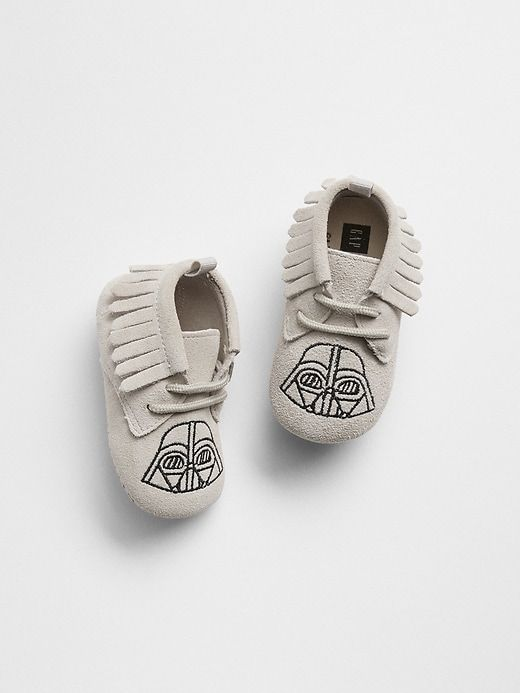 cfe9fb02a Gap Baby Babygap | Star Wars™ Moccasins Light Grey | Products | Baby ...