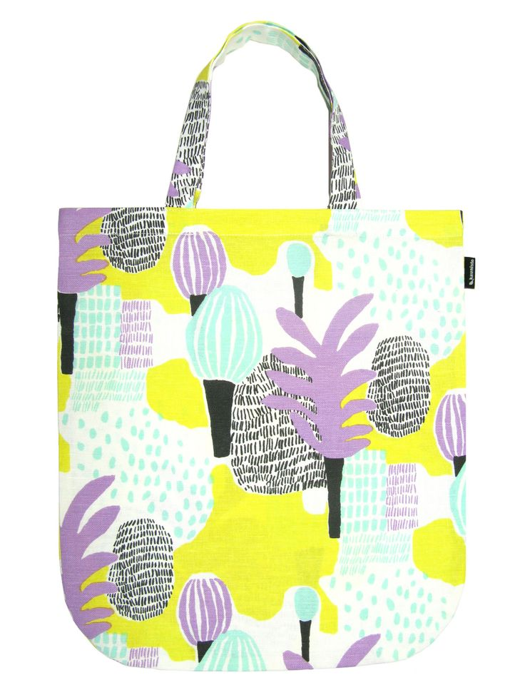 Kauniste- Muilla Mailla Tote Bag from Artsy Modern via The Third Row