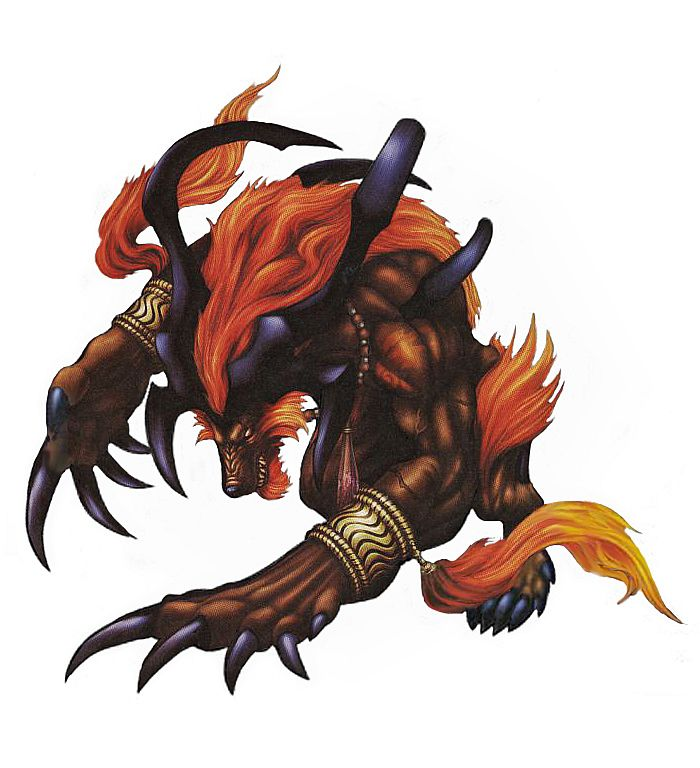 Final fantasy summons ifrit - photo#2