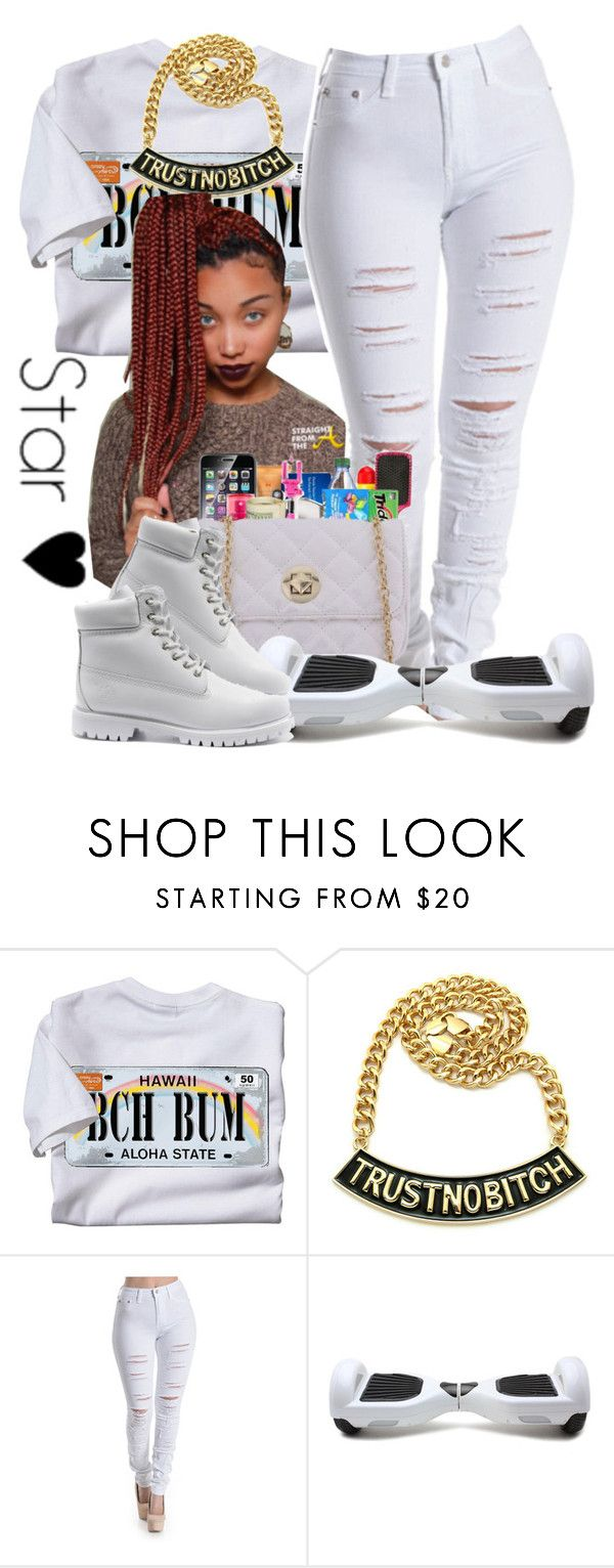 """cool kidz~ Zonnique pullins♡♡"" by independentbxtchesonly ❤ liked on Polyvore featuring Timberland"