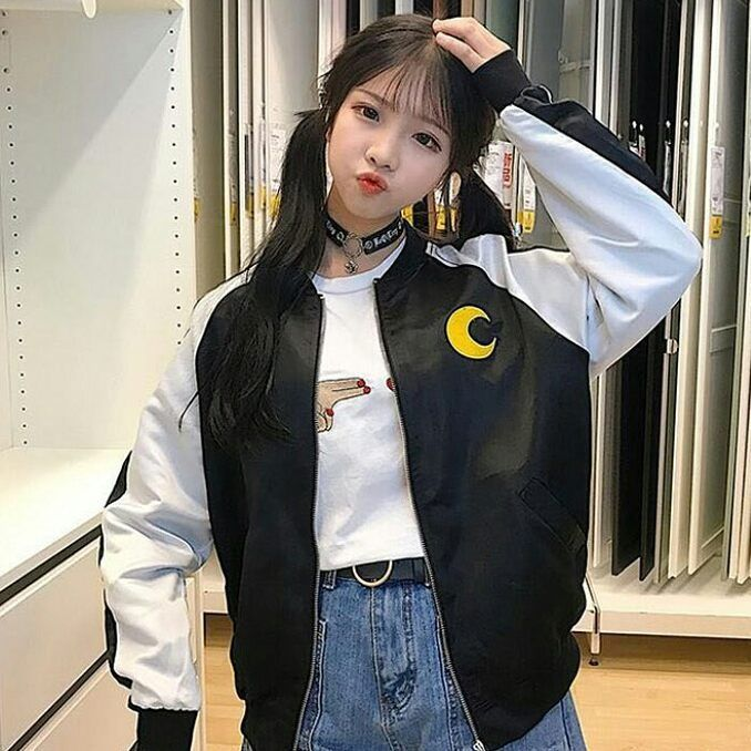 "4 curtidas, 1 comentários - ☆ Korean & Japan Fashion ☆ (@xchudream) no Instagram: "". [] @demonchest_shop  . [] #Fashion #OOTD #KoreanStyle #JapaneseStyle #KoreanFashion #Dress…"""