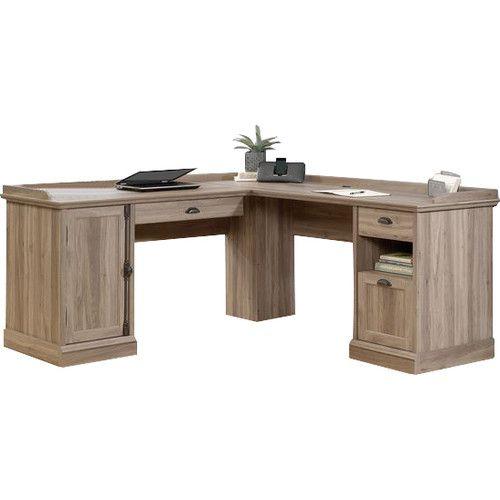 august grove lshaped executive desk