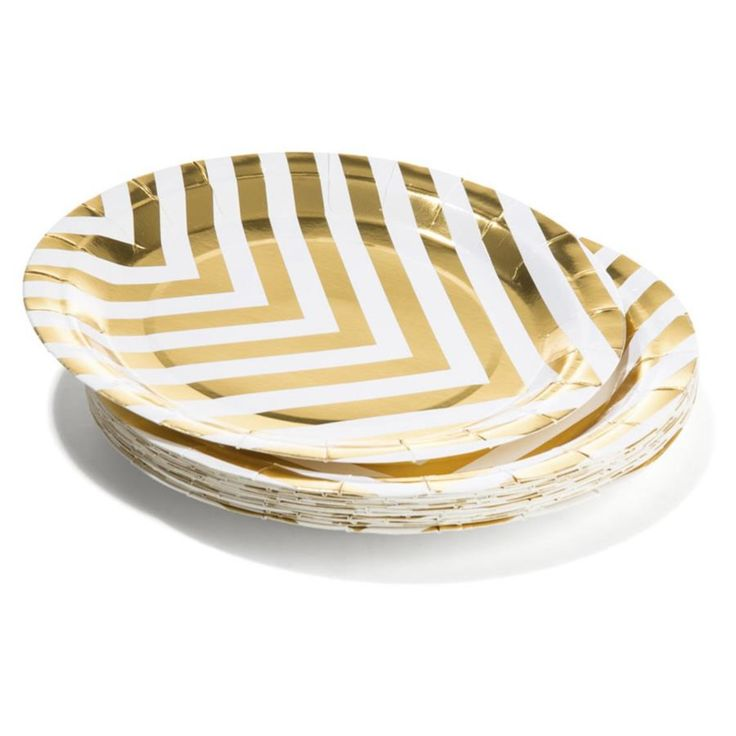 paper Plate Shimmer 16pk party
