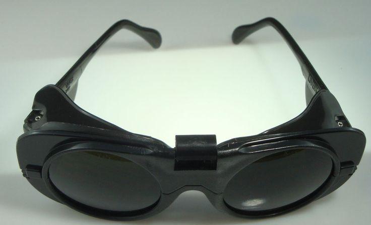 New uvex 9140 flipup welding furnace glasses shade 5 lens