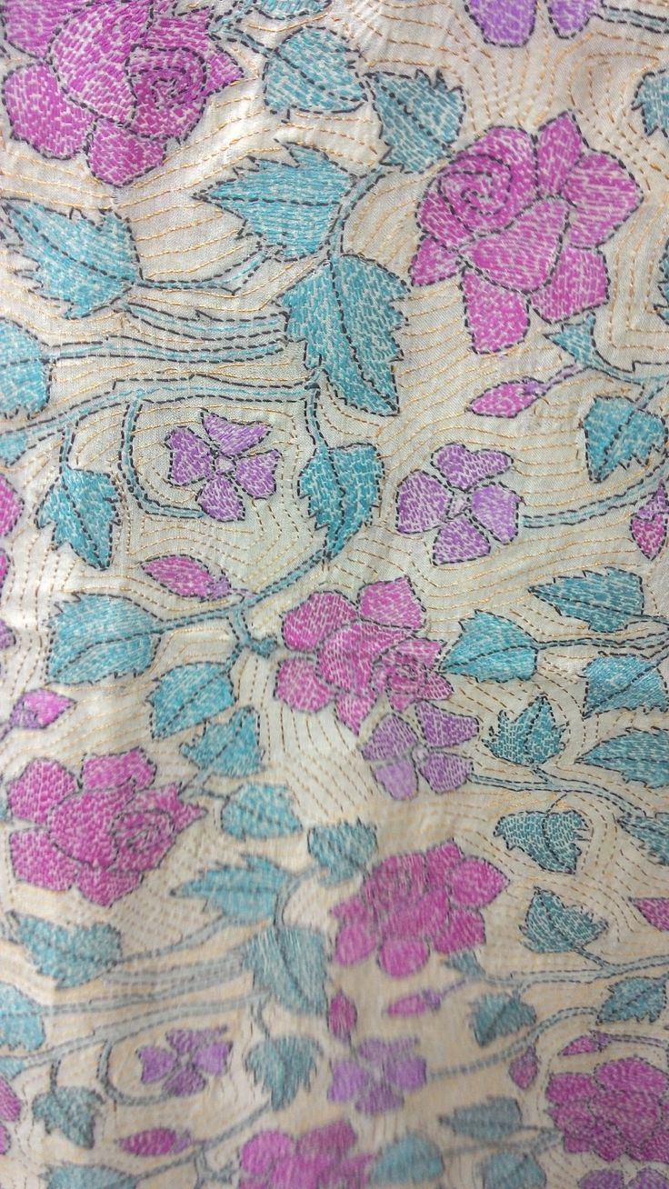 232 best images about Kantha embroidery on Pinterest Stitching, Quilt and Embroidered quilts