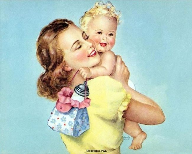 Mother's Pal, by Charlotte Becker