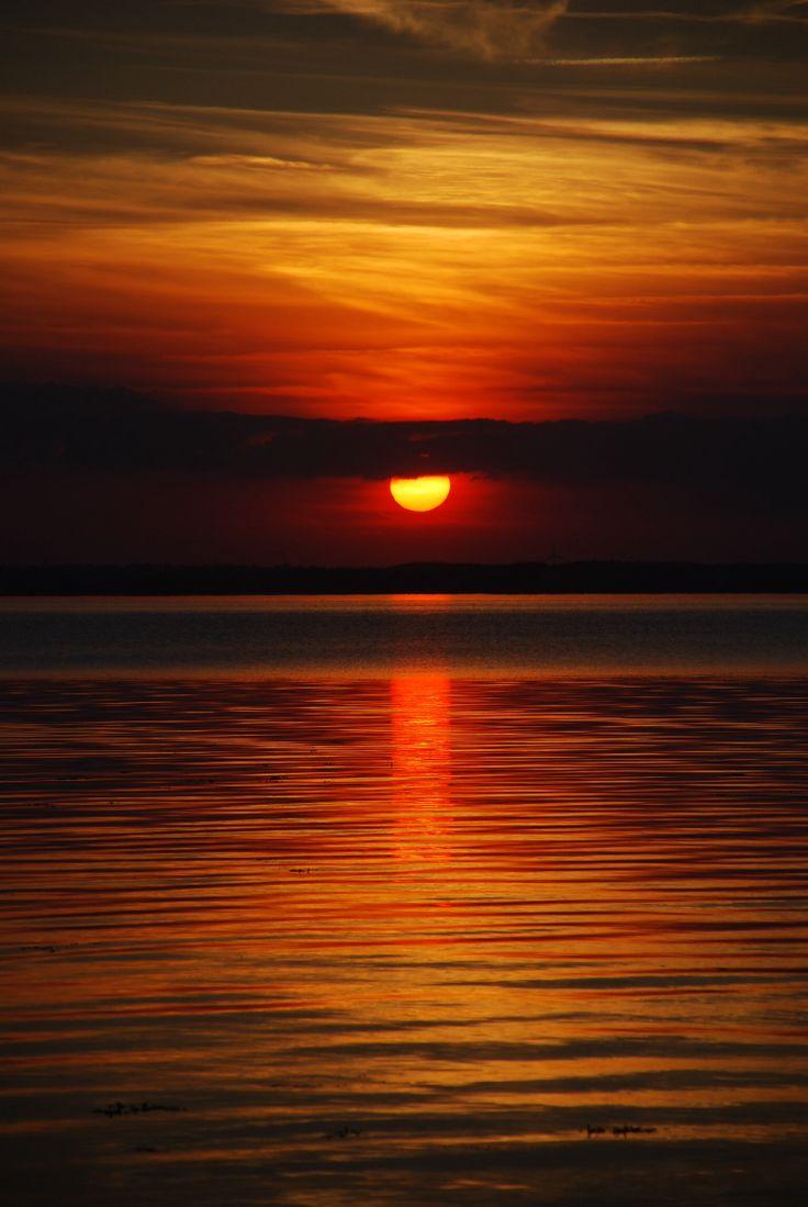 Sunset at Vesterhuse