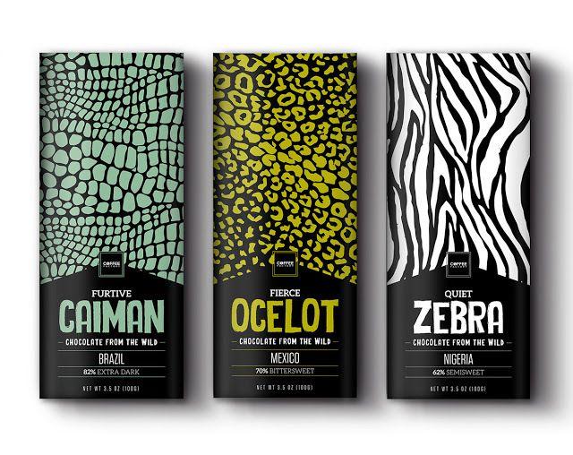 Coffee From The Wild (café et chocolat) | Design (concept) : Nicolás Aguirre Nankervis, Londres, Royaume-Uni (septembre 2015)