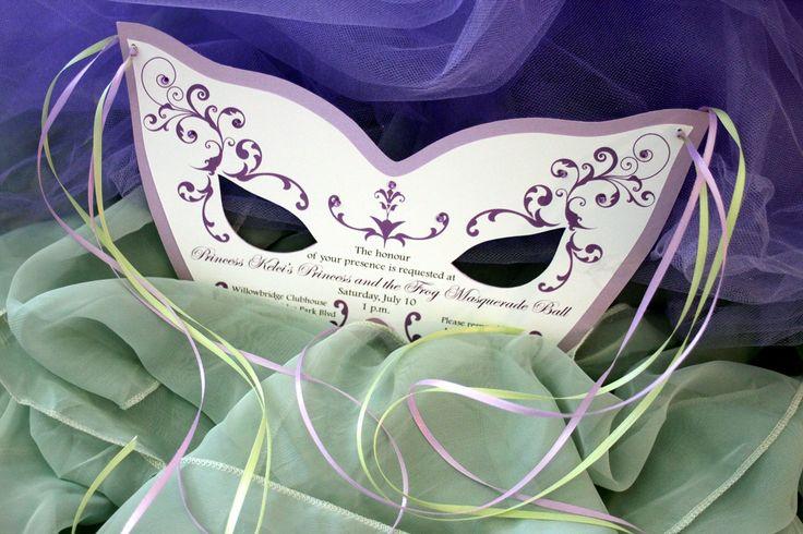 Masquerade ball invite