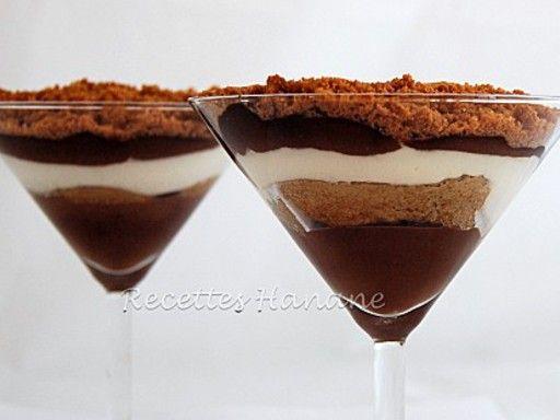 Tiramisu au chocolat sans café - Recette de cuisine Marmiton : une recette