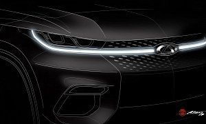 Chery Chinese SUV with European Looks Teased in Design Sketch :  With the exception of owning and controlling Volvo Cars the Chinese havent made a name for themselves in Europe as far as the automotive industry is concerned.  Qoros   for example failed mi