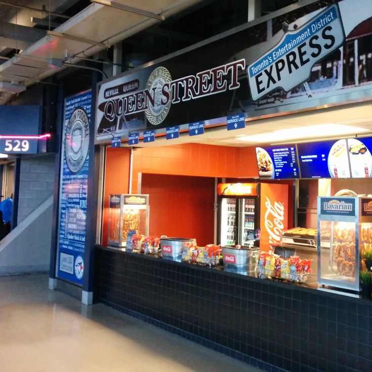 Queen Street Express, a quick stop for all of your ballpark favourites.