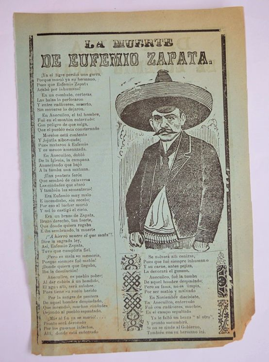 emiliano zapata thesis This lesson will detail the biography of emiliano zapata salazar and his significance for the mexican revolution his most famous quotations will.