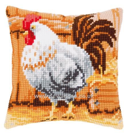 Shop online for Proud Cock Cushion Front Chunky Cross Stitch Kit at sewandso.co.uk. Browse our great range of cross stitch and needlecraft products, in stock, with great prices and fast delivery.