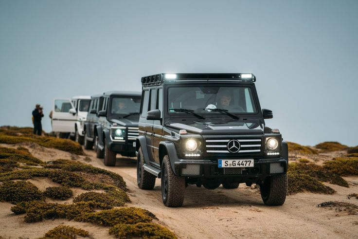 Mike Horn and the G-Class convoy for #Pole2Pole. - Mercedes-Benz