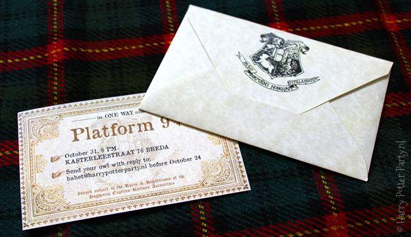 Als je een Harry Potter Party organiseert dan wil je daar natuurlijk mensen voor uitnodigingen, het liefst per uil, maar als dat niet gaat toch op z'n minst per Hogwarts brief? Speciaal voor …