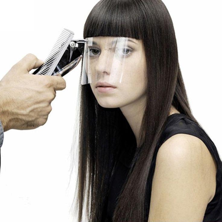 50 pcs/pack Profesional Masker Transparan Eyeprotector Tata Kecantikan Rambut Pakai Wajah Penutup Rambut Aksesori Alat GUB #