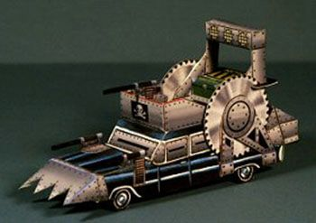 Paperized: The Battle-Hearse Papercraft