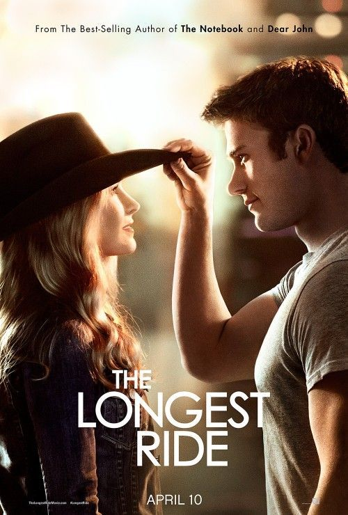 The most recent of Nicholas Sparks' books turned movie starring Scott Eastwood