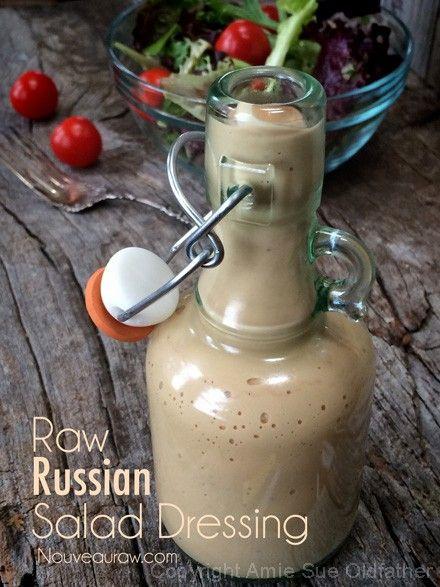 Raw Russian Salad Dressing