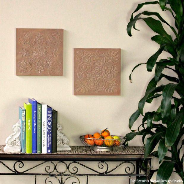 2017 Home Decor Trend Watch   Cork, Terracotta, Green, U0026 Wall Stencils