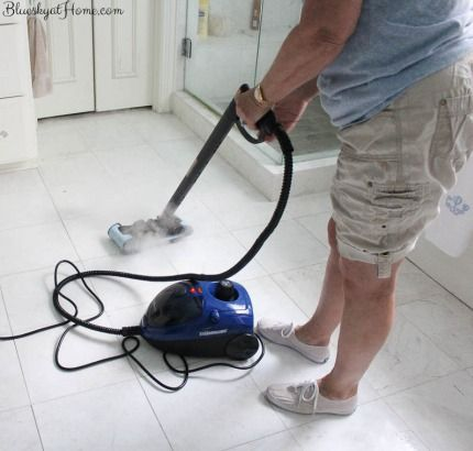 best way to clean grout without