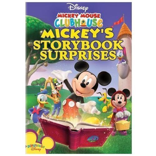 Disney Mickey Mouse Clubhouse MMCH Mickey's Storybook Suprises DVD New/Sealed!!