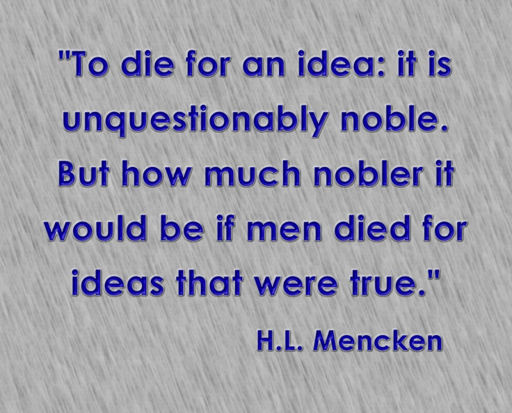 Http Noblequotes Com: 17 Best Images About H.L. Mencken Sticks In My Head On