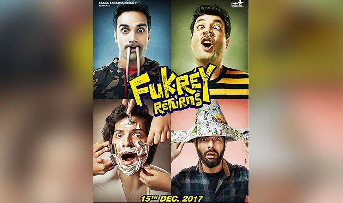 Fukrey Returns Motion Posters: Pulkit Samrat Varun Sharma Manjot Singh Ali Fazal Get Us Excited With Their Wackiness Ahead Of The Trailer Release