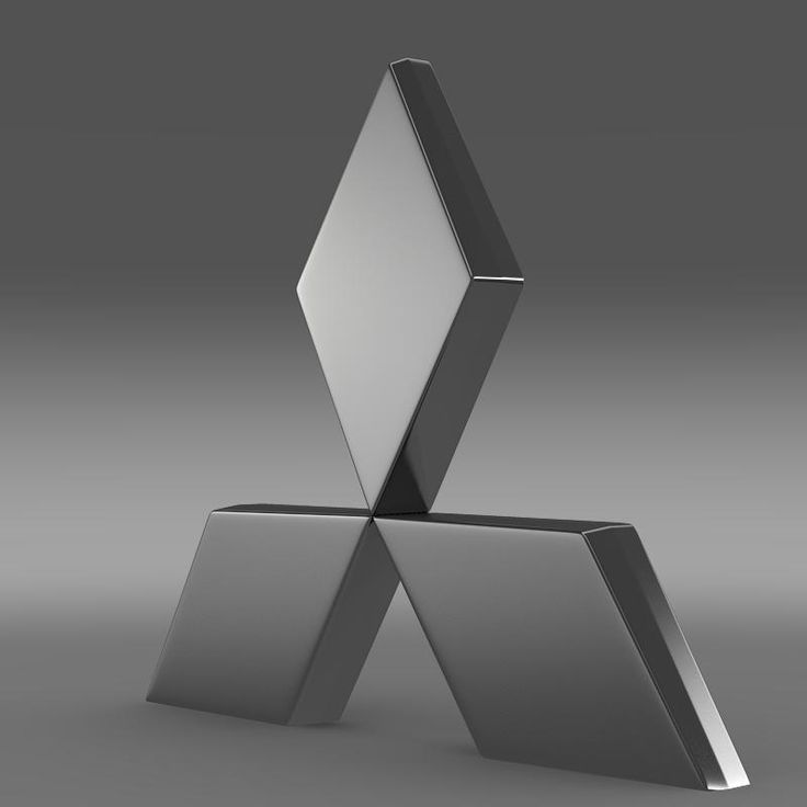 Mitsubishi Logo 3D Model- The Mitsubishi Group (Mitsubishi Gurūpu), Mitsubishi Group of Companies, or Mitsubishi Companies is a Japanese conglomerate consisting of a range of autonomous businesses which share the Mitsubishi brand, trademark and legacy. Th