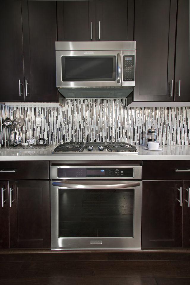 Kitchen Cabinets Backsplash Ideas Classy Pin By Jalesa R❥ On House In 12 Modern Kitchen 5697 8
