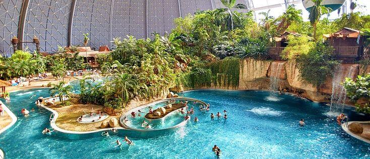 Het grootste tropisch zwemparadijs ter wereld is vlakbij! In Berlijn