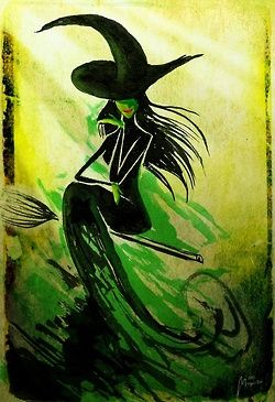 The Wicked Witch of the West #WICKEDthemusical go watch it now!