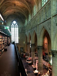 Bookstore in a Church in Maastricht, Netherlands