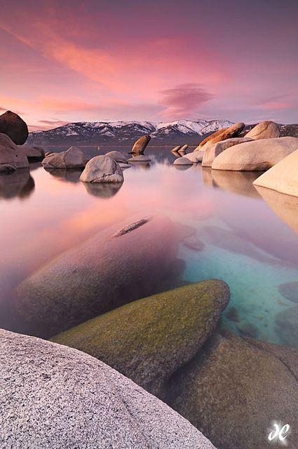 Sand Harbor State Park, Lake Tahoe, California, United States.
