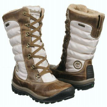 Timberland Women s Earthkeepers Mount Holly Tall Lace Duck Boot $97.99