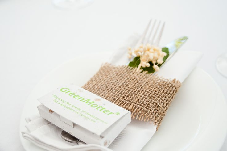 A look at the GreenMatter Fellowship launch table settings