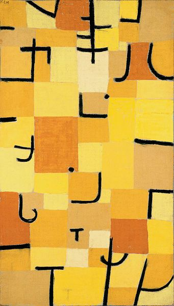 I forget how awesome Paul Klee was... he had such an amazing sense of color.