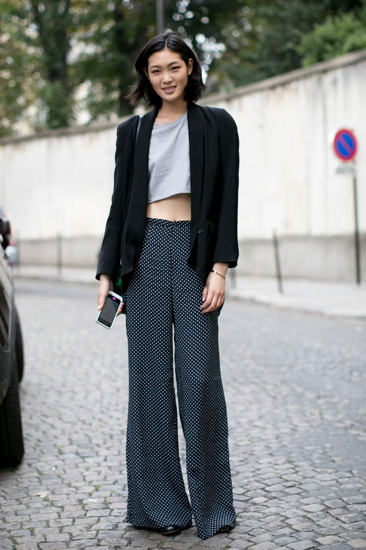 bol paça pantolon modeli