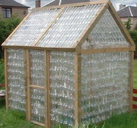 Jojo post recycle green house made out of water bottle nniiccee jojo post recycle - Building a house with plastic bottles ...