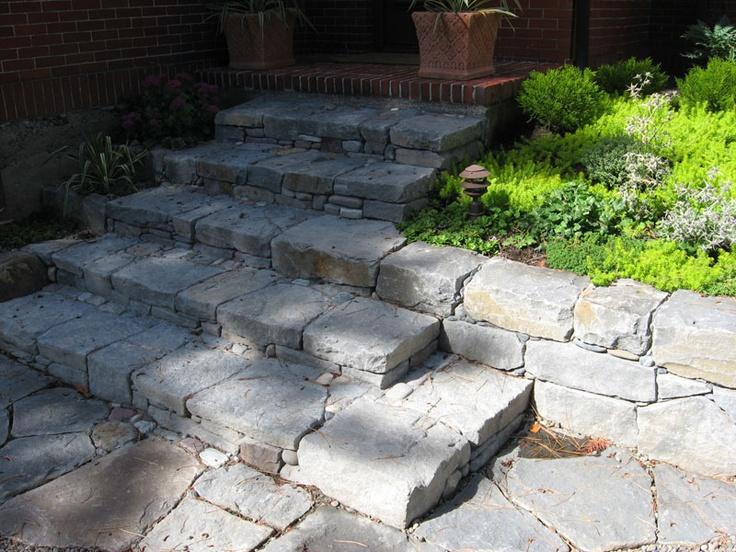 53 best steps garden images on pinterest easy a brick for Plusen landscape architects