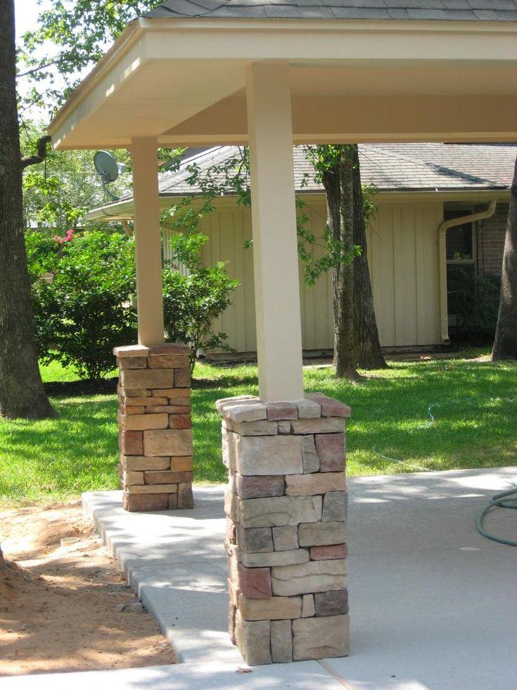 26 best home exterior paint colors images on pinterest for Patio pillars