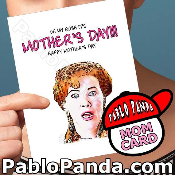Mothers Day Card  Home Alone  Kevin Mccallister Macaulay