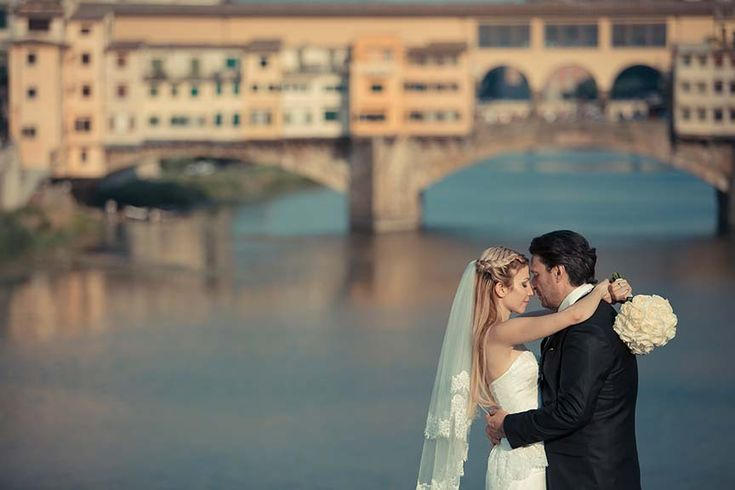 Dreamlike wedding in Florence, Italy