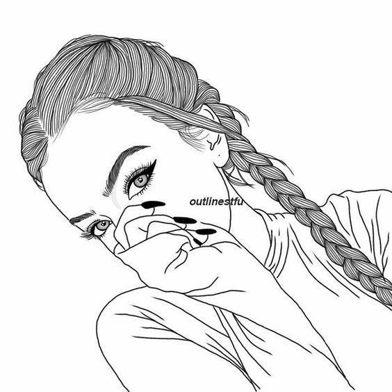 Pin Von Natalia Auf Drawings In 2019 Zeichnung Mädchen Tumbler